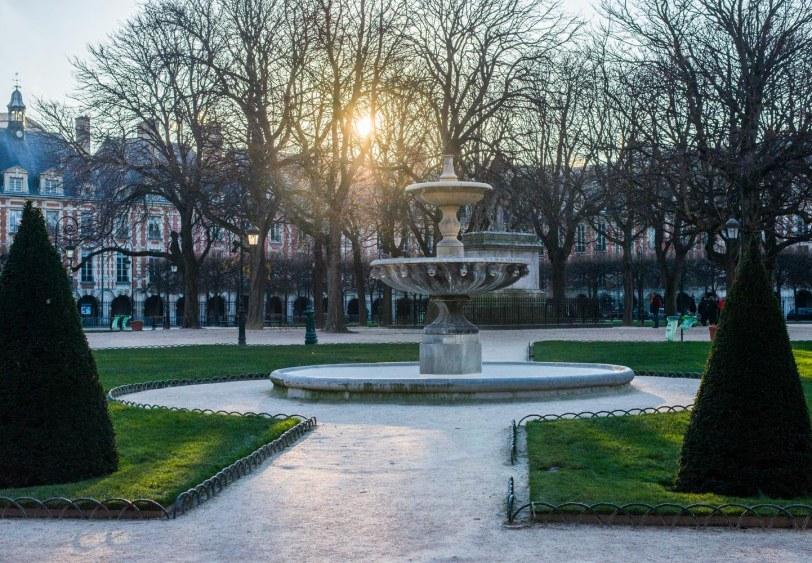 Place De Vosges: Built by Napoleon